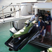 superyacht jetski launching jetski training superyachtpwc.eu