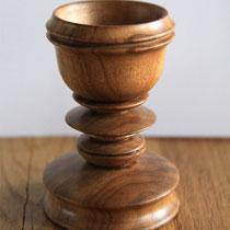 Eierbecher,Holz, Drechselarbeit, Tilmann Bohne, Holzsteinpapier