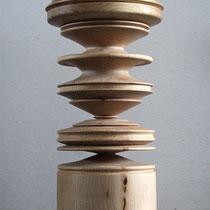 Drechselarbeiten,Holz, , Tilmann Bohne, Holzsteinpapier