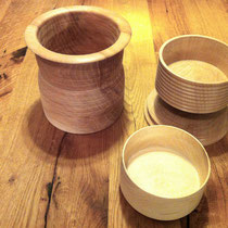 Schale, Holz, Drechselarbeit, Tilmann Bohne, Holzsteinpapier
