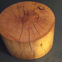 Hocker, Holz, Drechselarbeit, Tilmann Bohne, Holzsteinpapier