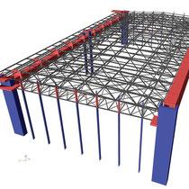 Stahlbau statik software scia software gmbh for Stahlbau statik beispiele