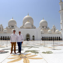 Not to be missed: Sightseeing at Shaikh Zayed Mosque