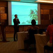 Seminar at Constance Ephelia, Mahé