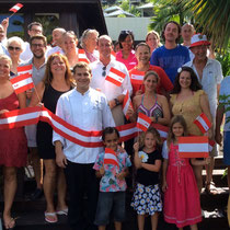 Austrian Day at Raffles Praslin Resort
