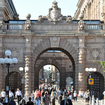 Tagesausflug nach Stockholm