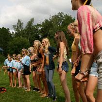Cheerleader Cooperation Day mit Schwedischen Camp