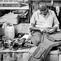 Street Shoemaker - Masjid Moth Market