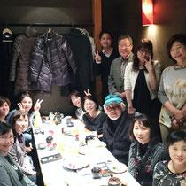 平成27年12月 熊本市下通り【郷】さんで忘年会をしました