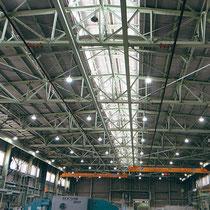 工場などのLED照明