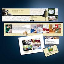 Dangaster Reethaus: Flyer, Postkarten, Visitenkarten etc. inkl. Fotografie