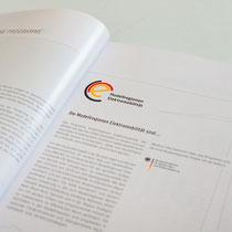 Portfolio Dorina Rundel - Grafikdesignerin: NOW Jahresbericht, Printdesign