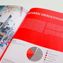 Portfolio Dorina Rundel - Grafikdesignerin: NOW Jahresbericht, Doppelseite