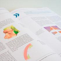 Portfolio Dorina Rundel - Grafikdesignerin: Zuse Institut Berlin - Jahresbericht 5