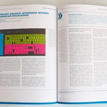 Portfolio Dorina Rundel - Grafikdesignerin: Zuse Institut Berlin - Jahresbericht 3