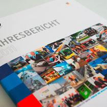 Portfolio Dorina Rundel - Grafikdesignerin: NOW Jahresbericht