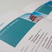 Portfolio Dorina Rundel - Grafikdesignerin: Siemens Ideenforum - Printdesign