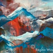 Regina Wuschek, 70x100x2