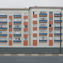 'Army Barracks' 160 x 200 cm oil on canvas, 2006.