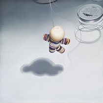 'Toy' 120x120cm oil on canvas, 2011
