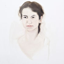 Portrait of Pınar Korun 100x70cm oil on canvas, 16.05.2011