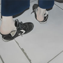 'Converse' 60x80cm oil on canvas, 2006