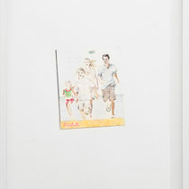 'Ideal Family I' 73x53cm (framed) colour pencils on paper, 2011