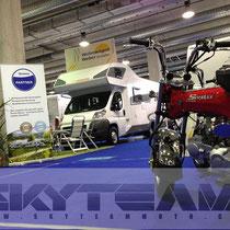 Skyteam Skymax Dax auf dem Stand von Wohnwagen Weber St. Gallen 2013