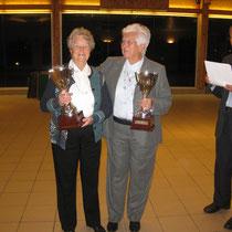 Les gagnantes : Mme Gergonne et Mme Buret