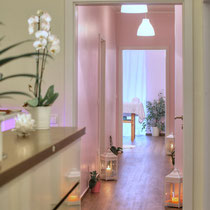 Wellness Studio Laflora Day Spa Empfang