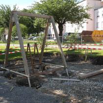 Umgebungsarbeiten, Spielplatz