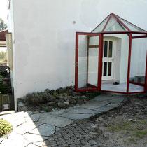 Anbau Hauseingang
