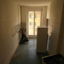 Küche vor Renovation