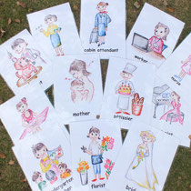 9、女の子夢カード