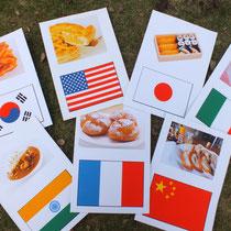 12,食べ物×国カード