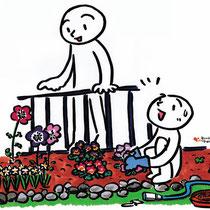 花を見る余裕はなくしたくないな。