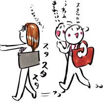 ビジネス絵本3 制作日記 学校へ行く!
