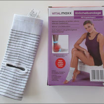 Zwei spezielle Fußbandagen von Walzvital ausprobiert.