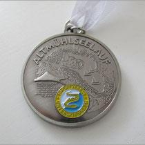 Eine - wie ich finde - sehr schöne Finisher-Medaille.
