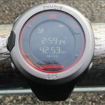 Preiswerte GPS-Uhr 'OnMove 220' von Geonaute getestet.