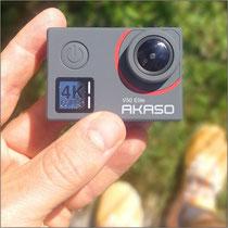 Die 'AKASO V50 Elite' im Test...