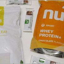 Verschiedene Produkte von nu3 ausprobiert.