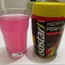 """""""Isostar Hydrate & Perform"""" im Praxistest."""