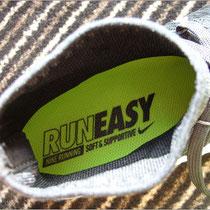 Der 'Nike LunarEpic Flyknit' bietet Wohlfühlmaterial.