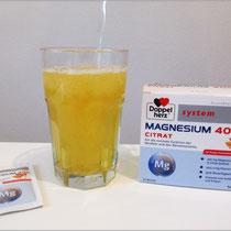 Verschiedene Magnesium-Produkte von Doppelherz ausprobiert.