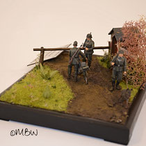 WW2 Feldgendarmerie - Tamiya Plastikmodell Military Police