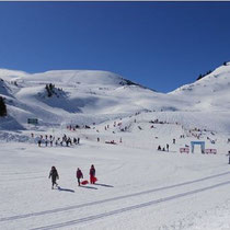 ski de fond à Nistos