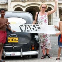 Karen Gröning auf Cuba