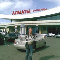 Torsten Riemann in Almaty (Kasachstan)