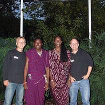 Massai aus Tansania zu Besuch